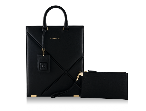 Bolso Mosler Negro -Gold Limited Edition-