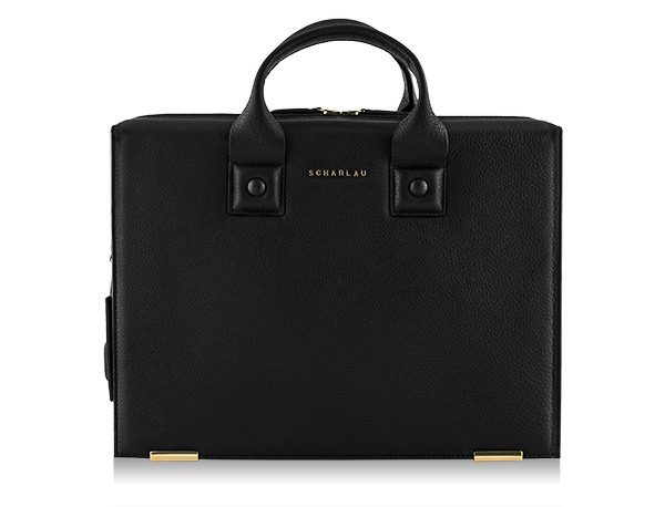 Farnsworth Briefbag Black -Gold Limited Edition-