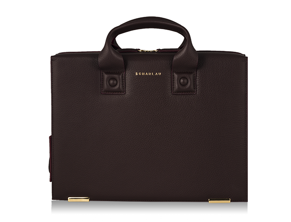 Farnsworth Briefbag Burgundy -Gold Limited Edition-