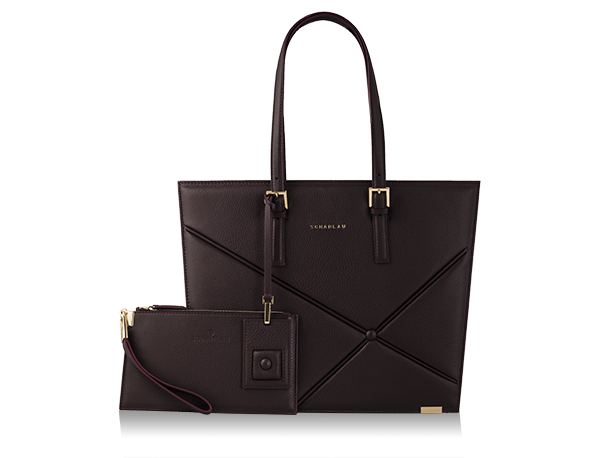 Ryder Shopping Bag Burgundy -Gold Limited Edition-
