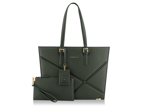 Ryder Shopping Bag Green -Gold Edizione limitata-