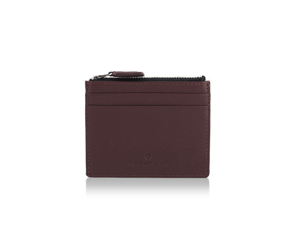 Perls Credit Card Holder Burgundy