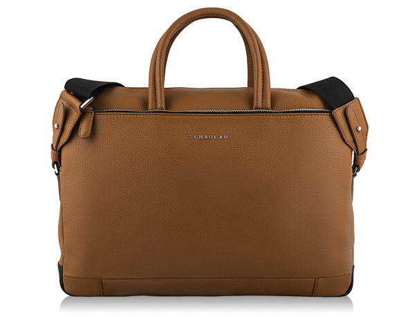 "M Briefbag for laptop 13,3"" Cognac"