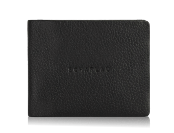 Horizontal wallet with coin pocket and 4cc
