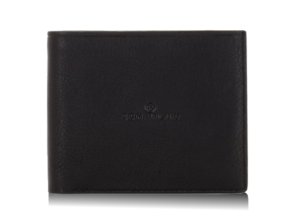 Wallet with money clip and 8 cc