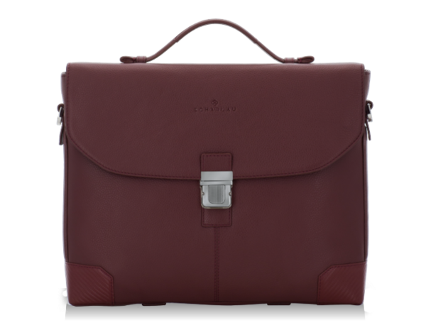 Briefbag with flap