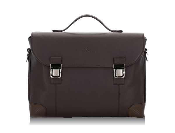 Briefbag with flap 2 compartments