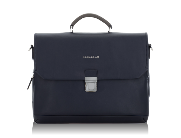 km 9 Briefbag with flap