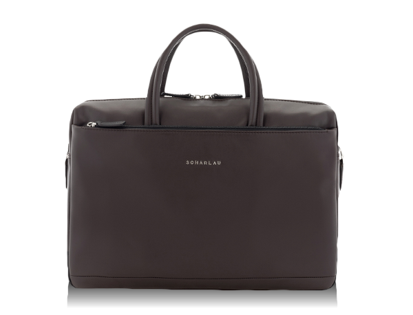 km 12 Briefcase brown