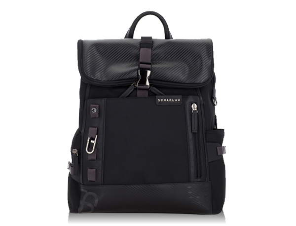 Backpack with flap Flash