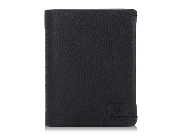 Vertical wallet with 7cc and removable card holder