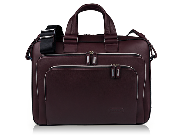 Two Handle Slim Brief Burgundy