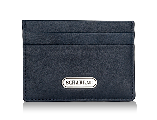 Card holder Navy blue