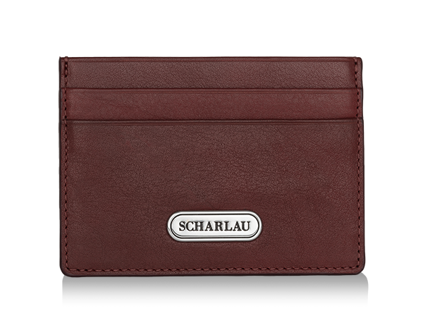 Card holder Dark Red